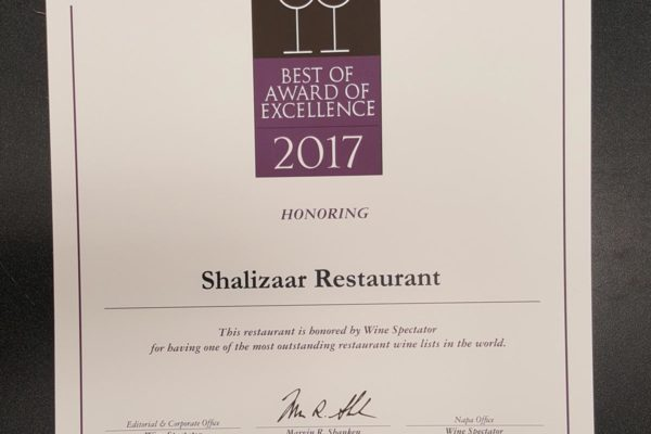 best of award of excellence-2017